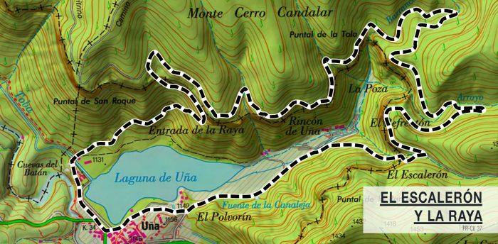 Ruta del Ecaleron a la Raya Cuenca