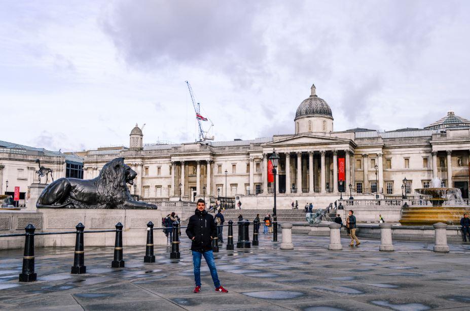 Trafalgar square Londres que ver