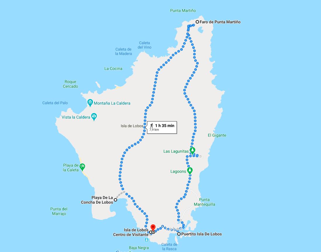 Isla de Lobos Fuerteventura