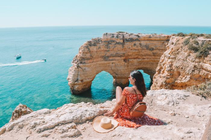 Praia Marinha Algarve Portugal playa