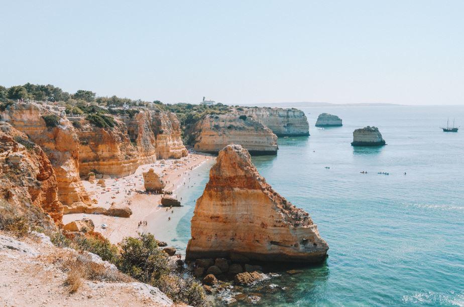 Praia Marinha Algarve Portugal