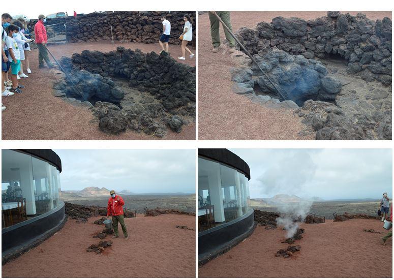 demostracion Timanfaya