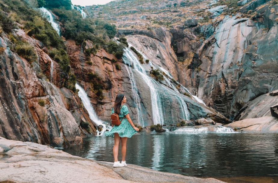 Cascada Ezaro Galicia