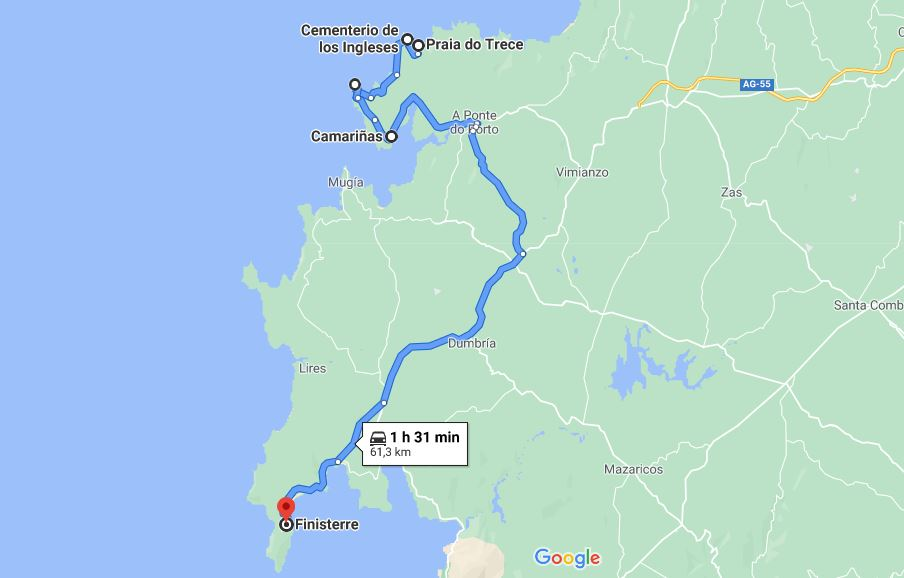 Itinerario Galicia dia 3
