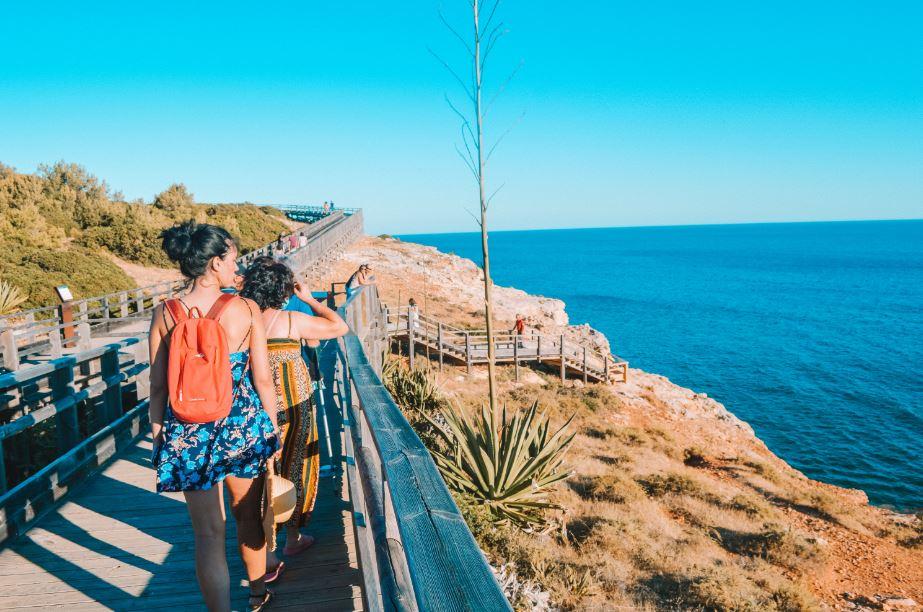 Pasarelas de Carvoeiro Algarve Carvoeiro