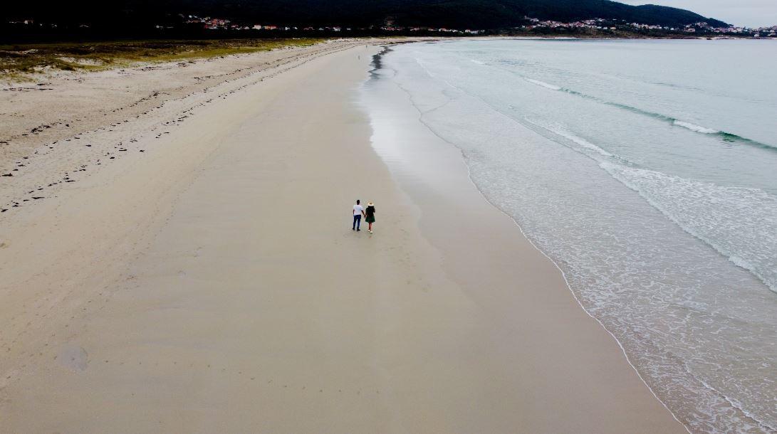 Playa de Carnota Galicia