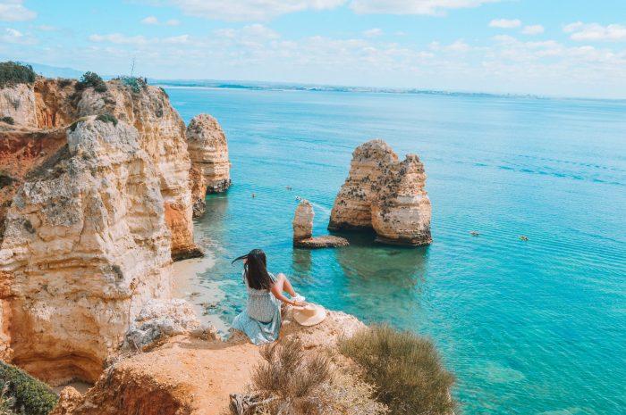 Ponta da Piedade El Algarve Portugal