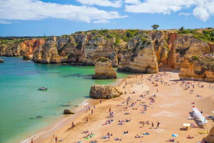 Praia Dona Ana Algarve