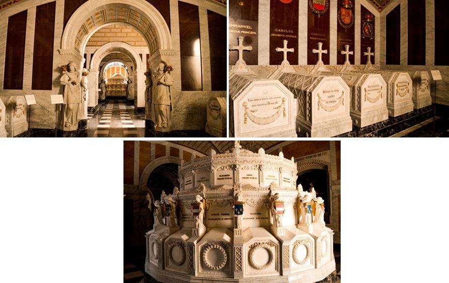 San Lorenzo del Escorial tumbas