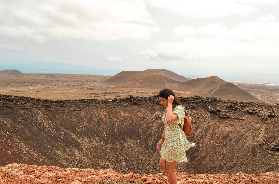 Volcán Calderón Hondo que ver en Fuerteventura