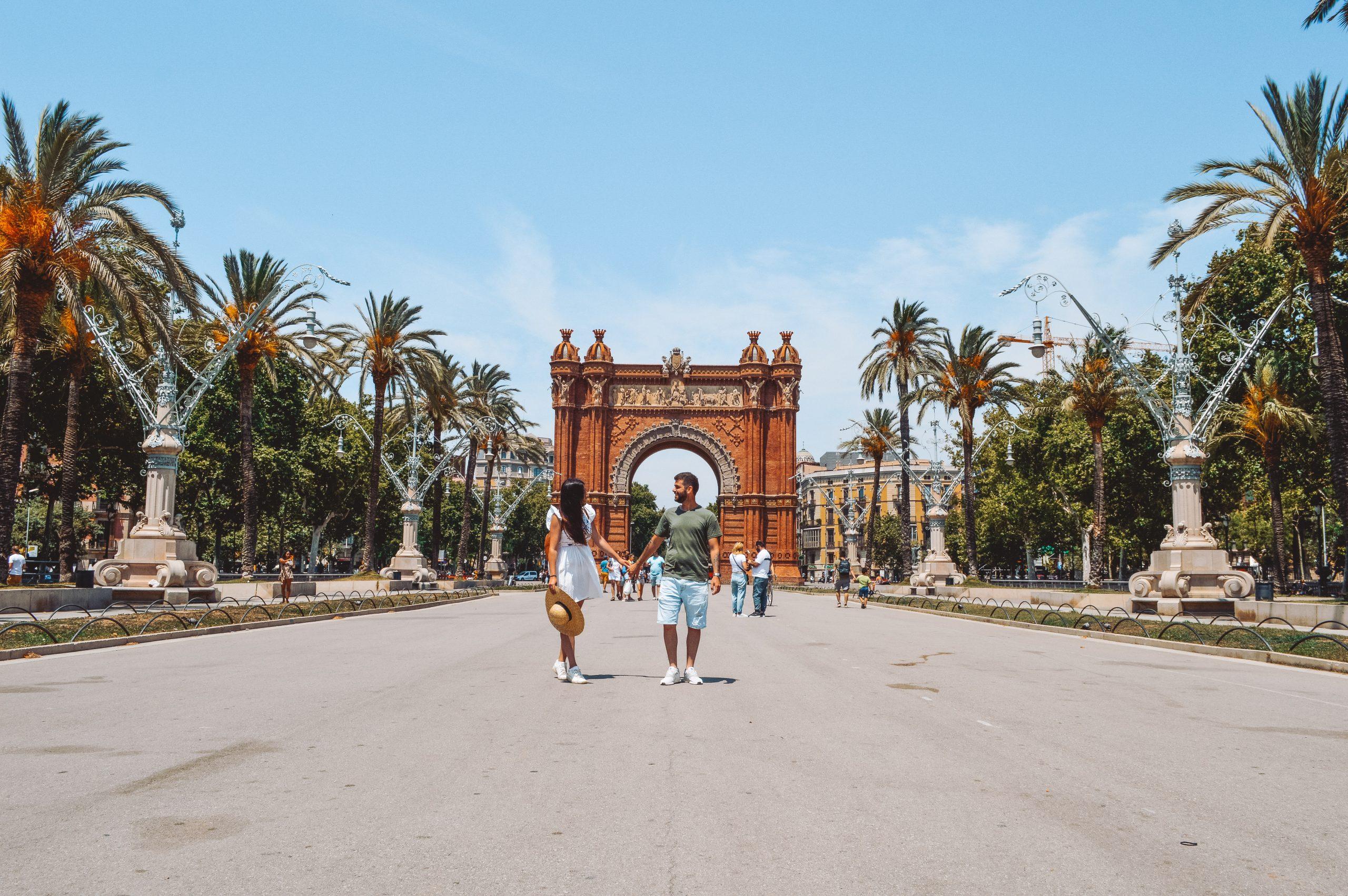 Arco del Triunfo que ver en Barcelona