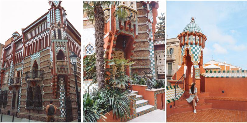 Casa Vicens que ver en Barcelona