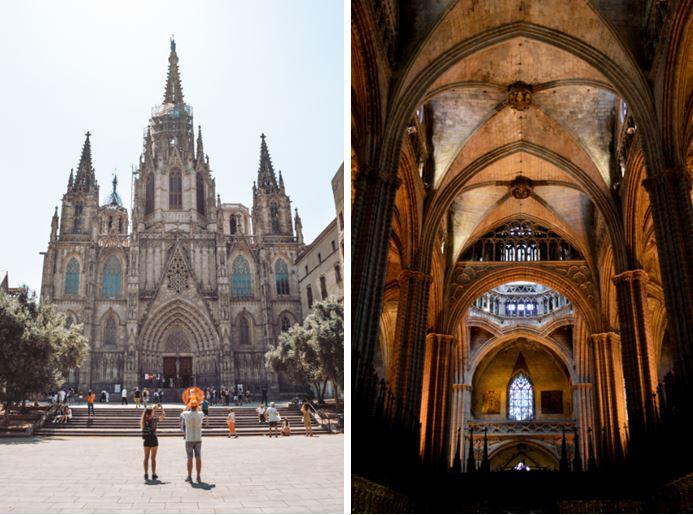 Catedral de Barcelona que ver en Barcelona