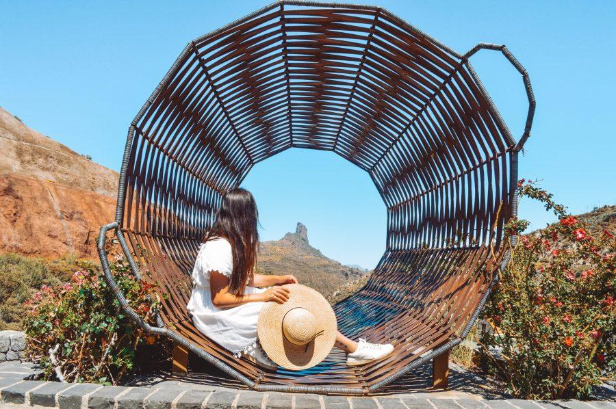 Cesta de Tejeda que ver en Gran Canaria