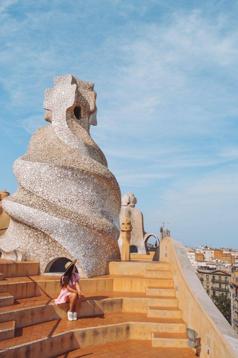 La Pedrera azotea que ver en Barcelona