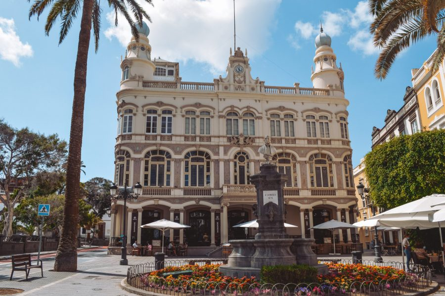 Plaza de Cairasco que ver en Las Palmas de Gran Canaria