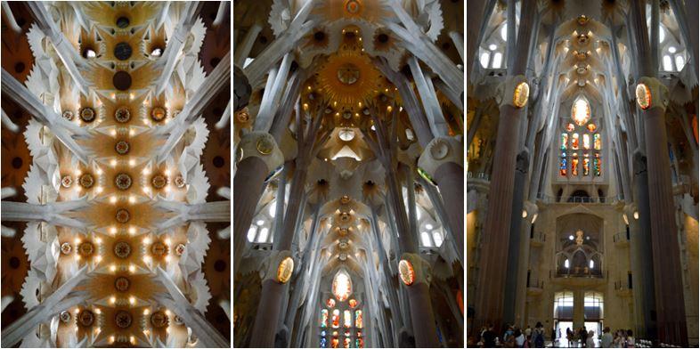 Sagrada familia interior que ver en Barcelona