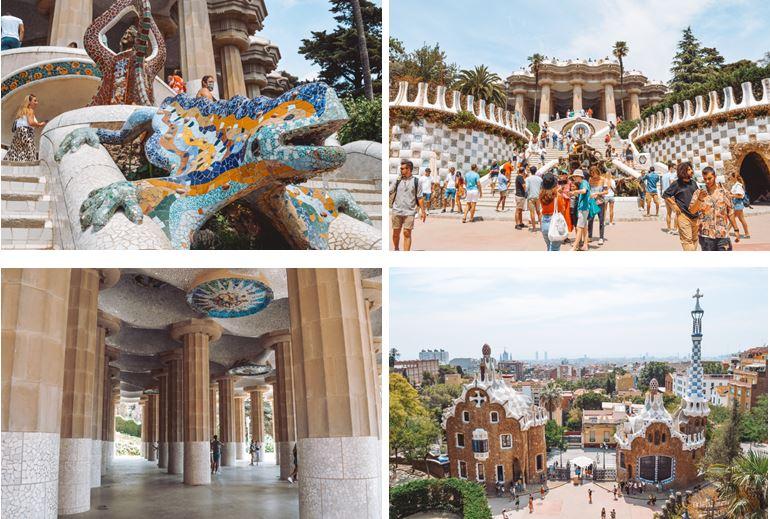 Parque güel que ver en Barcelona