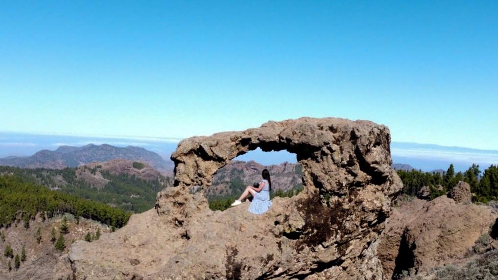 Ventana del Nublo Gañifa que ver en Gran Canaria