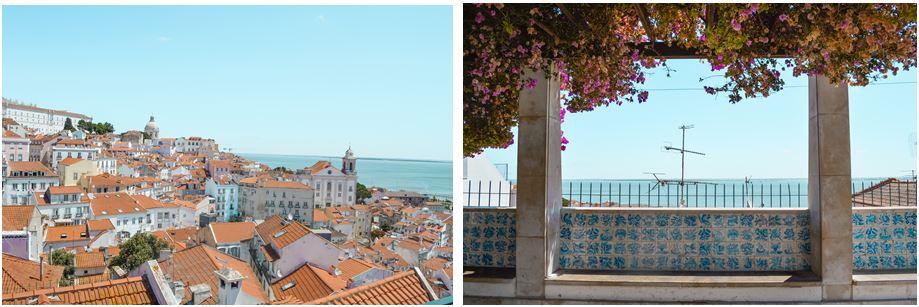Mirador Santa Lucia que ver en Lisboa