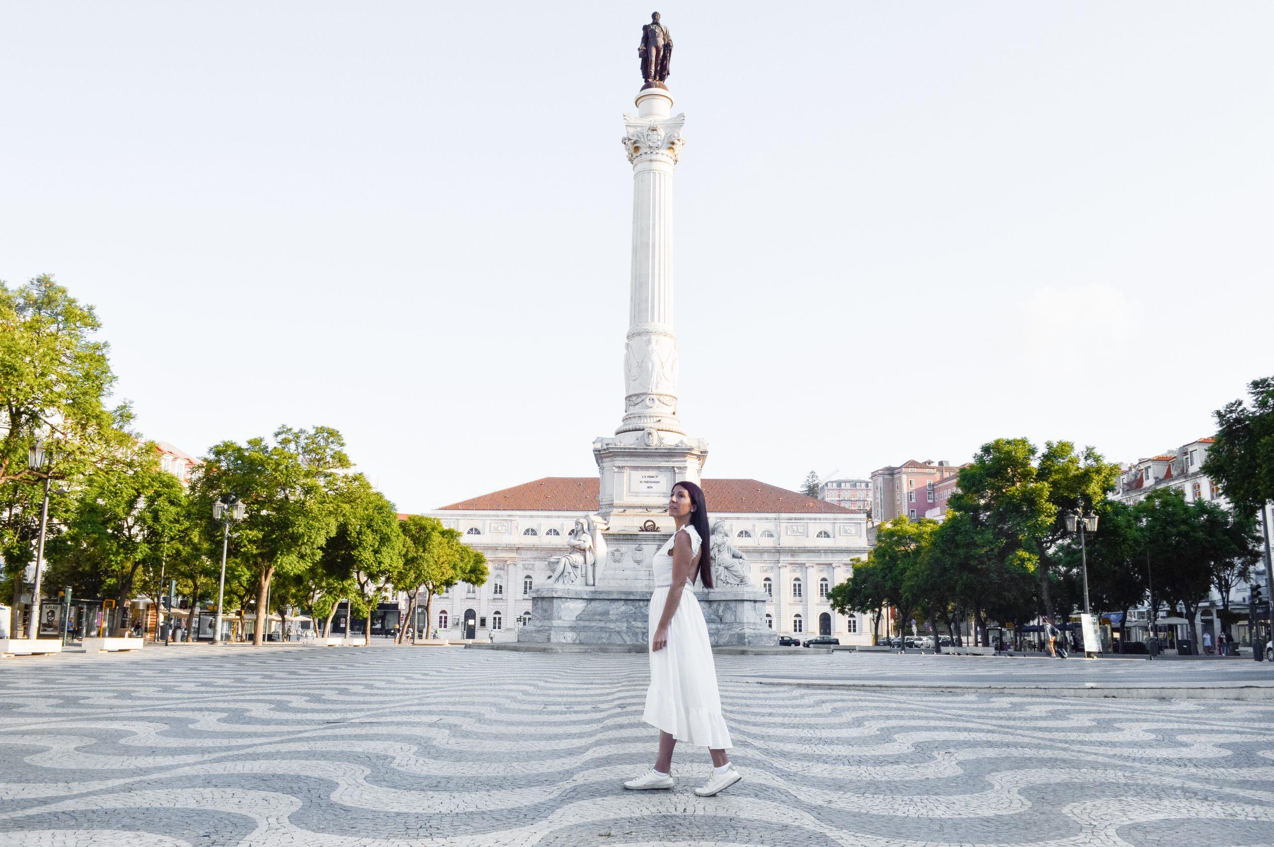 Plaza Rossio que ver en Lisboa