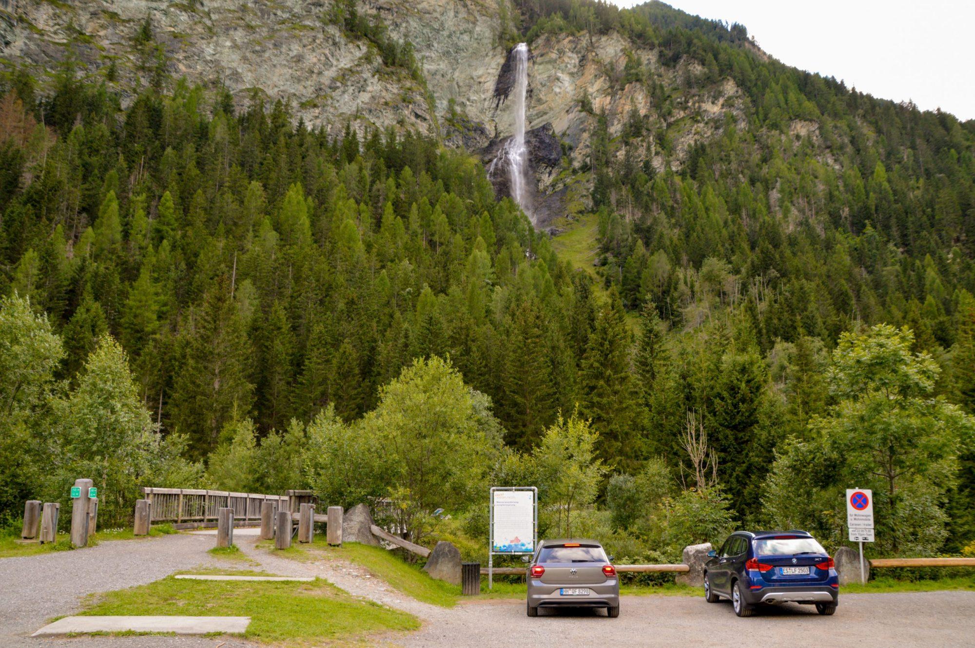 Cascada Jungfernsprung que ver en Austria