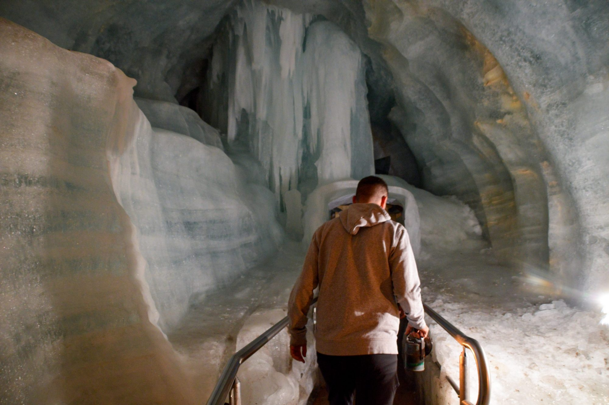 Cueva de hielo de Eisriesenwelt que ver en Austria