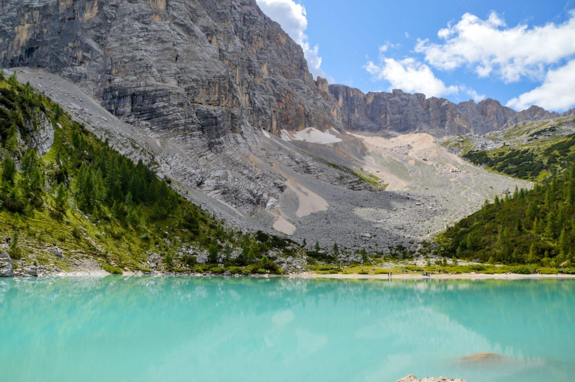 Ruta Lago di Sorapis Dolomitas que ver Italia