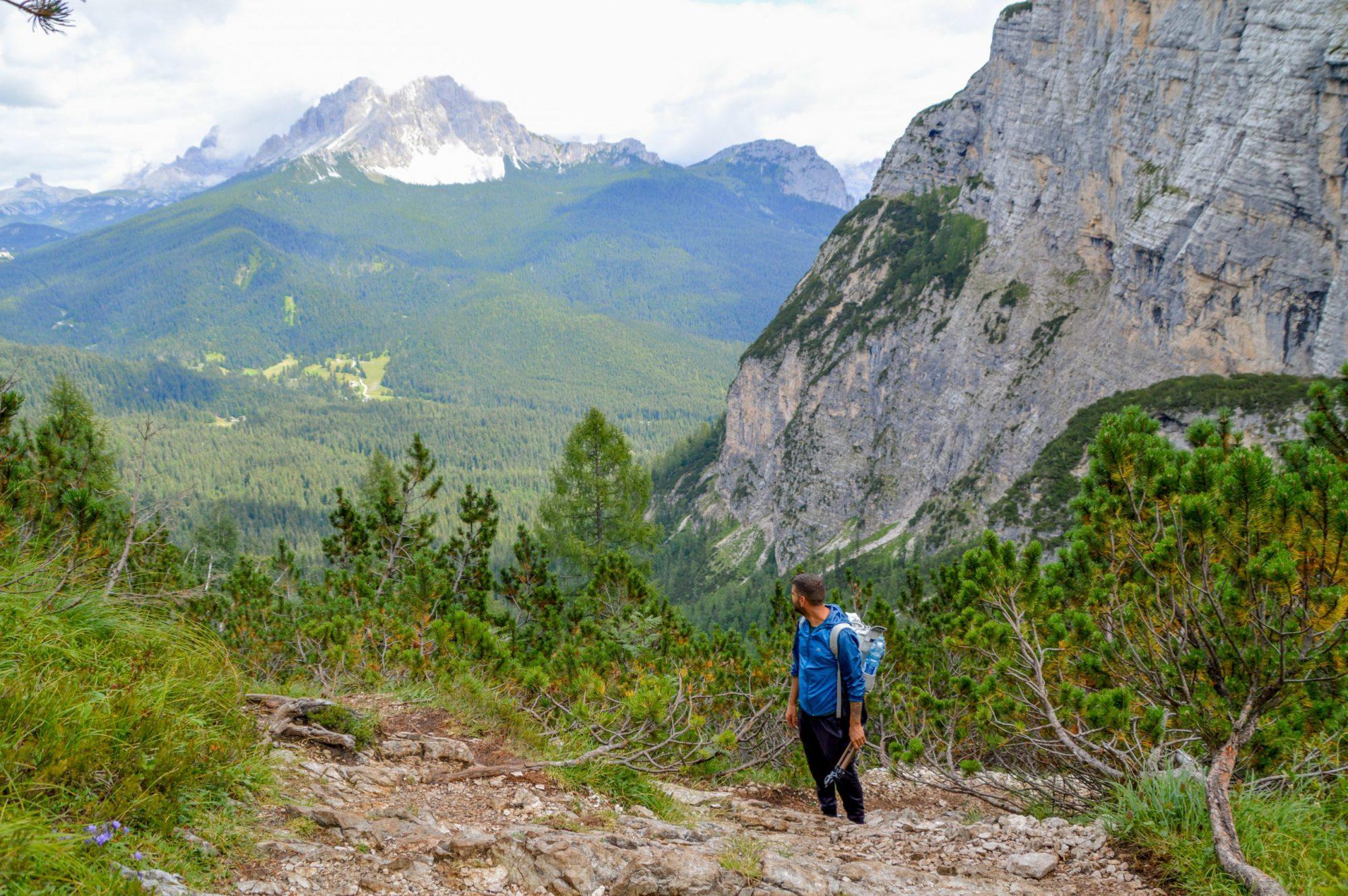 Ruta Lago di Sorapis que ver en Dolomitas